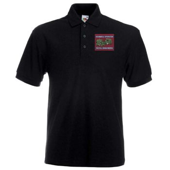 Scammell Operator Embroidered polo shirt